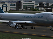 PMDG 747 v3 Cathay Pacific New Cargo B747F