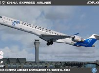 Aerosoft CRJ900ER China Express Airlines B-3381( Not for CRJ pro )
